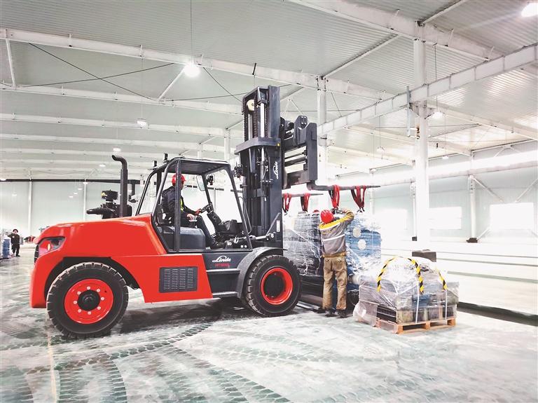 奥瑞金制罐项目二期工程加快建设。