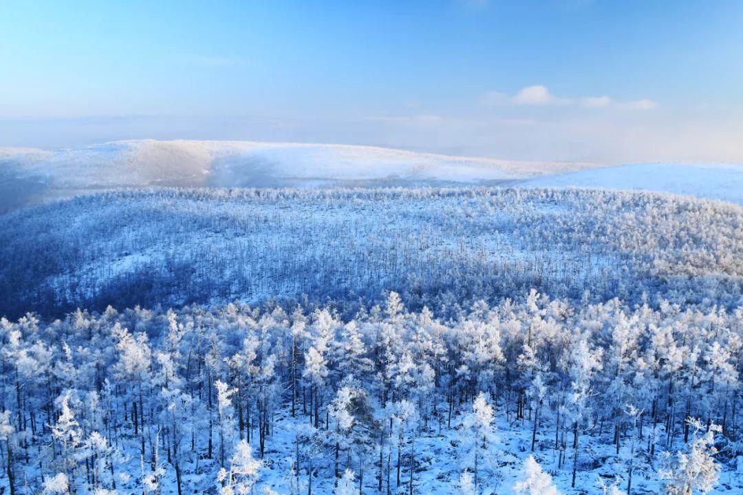 △大兴安岭的林海雪原 / 图虫