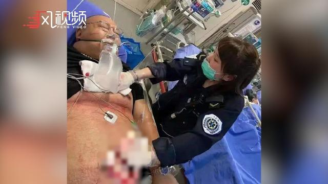 """南京驾车撞人事件10名市民被认定见义勇为 """"胖哥""""仍在ICU"""