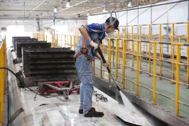 涨知识!郑州地铁的列车空调如何清洁维护的?