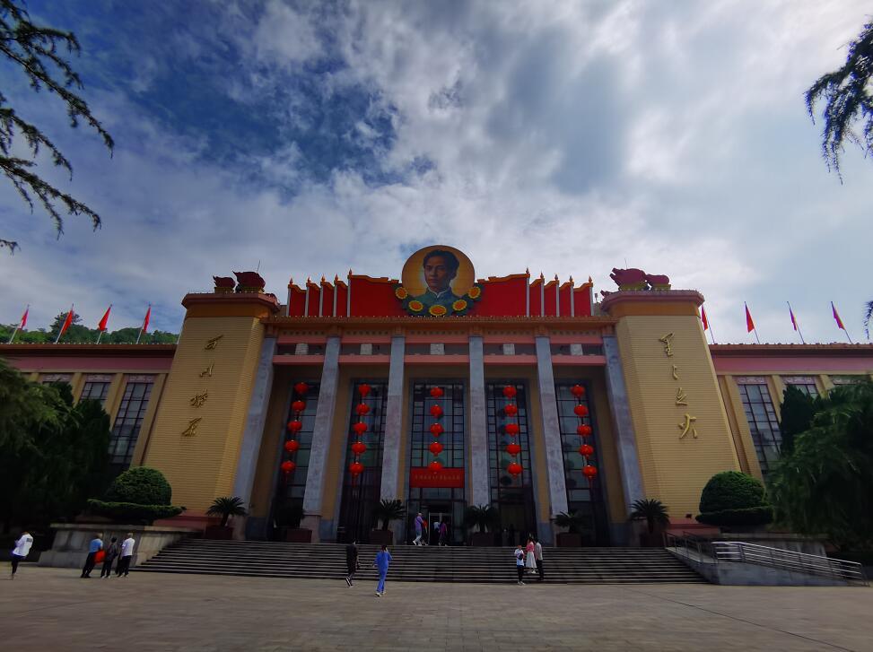 安源路矿工人运动纪念馆(李梦丽 摄)