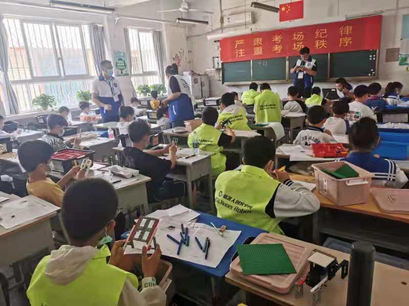 开封市举行青少年人工智能技术水平测试