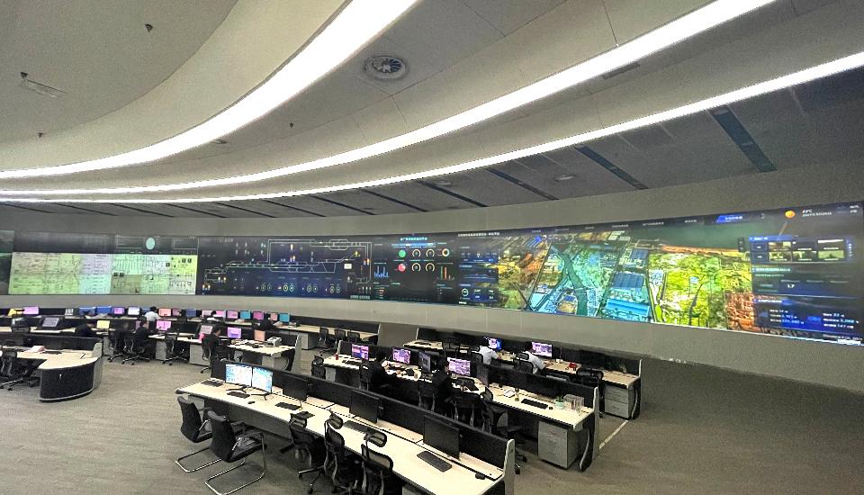 日钢信息化管控中心——日钢的柔性制造能力是建立在企业的数字化智能化之上