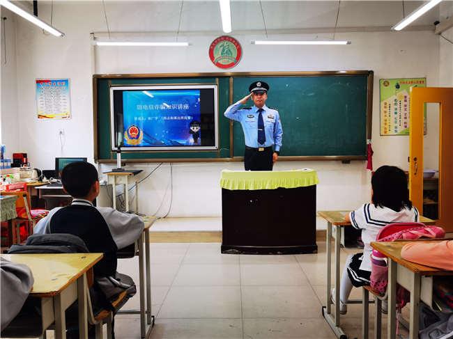 尚志街派出所创新方式 多措并举进行防电诈宣传