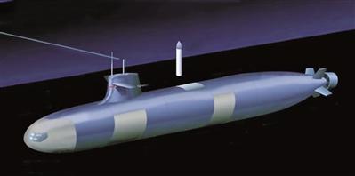 美海军公布核动力攻击潜艇SSN(X)示意图