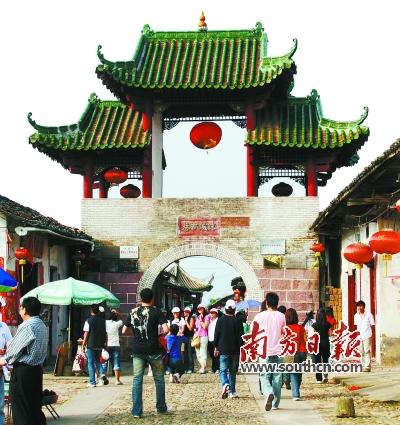 珠玑古巷南门楼。受访者供图