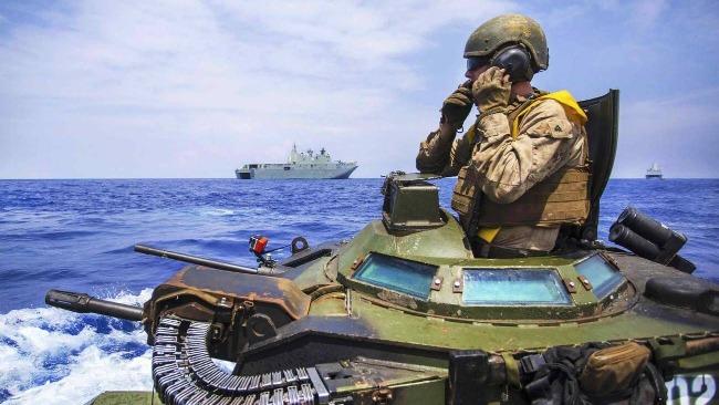 外媒:美海军陆战队将领因致命事故被解职