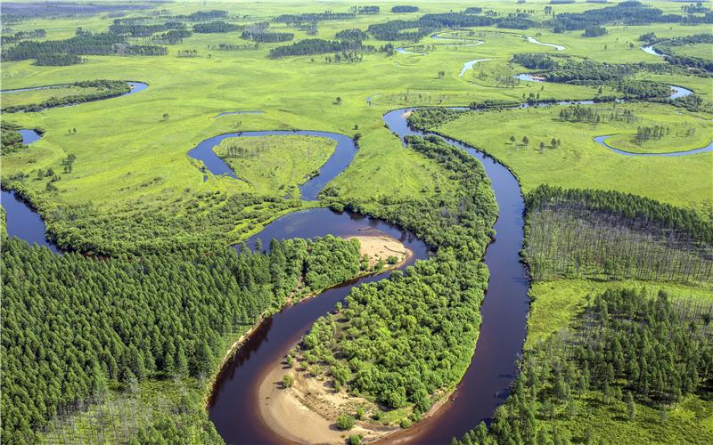 《大地图腾》南瓮河湿地。作者:马利群