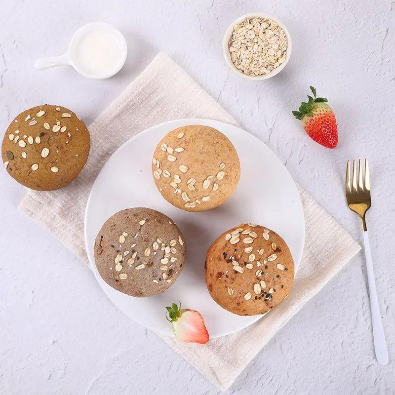 解决上班族的早餐难题,无糖低脂,全麦面包囤起来