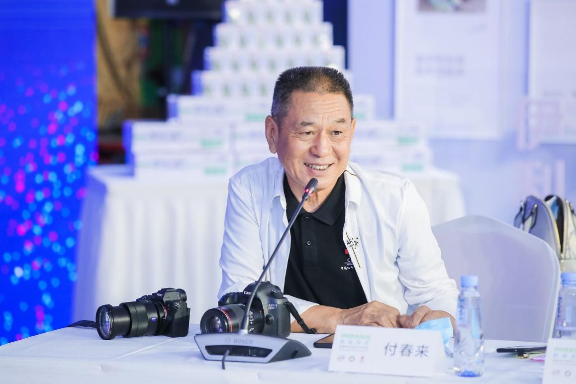 (中国红十字基金会项目官员 付春来)