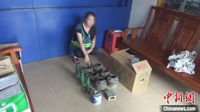 广东打掉涉文物违法犯罪团伙8个追缴文物1200余件