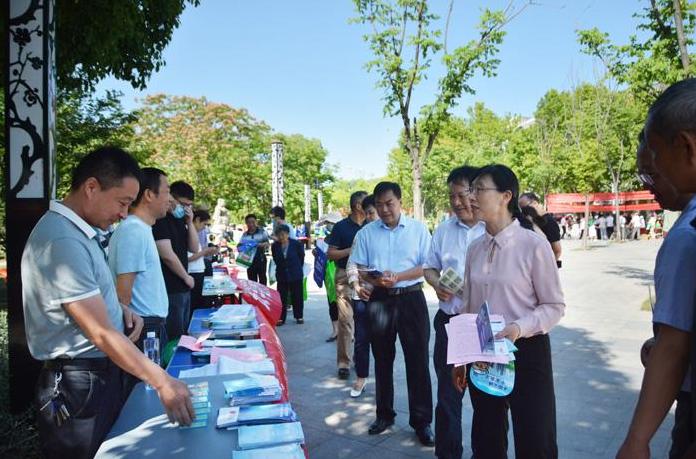 长丰县开展第50个世界环境日宣传