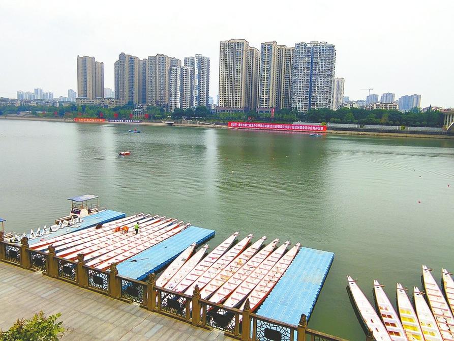 合川区文化旅游委:6月11日,相约涪江看赛龙舟