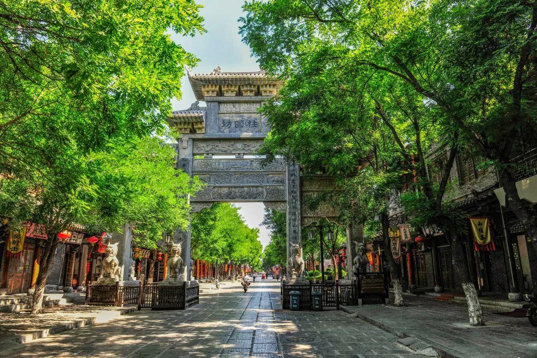 图/ 青州古城