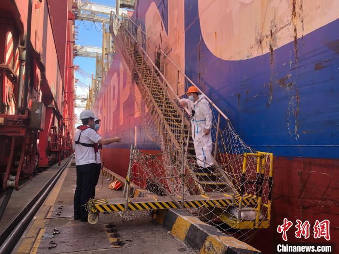 广州海事部门全力推进国际航线船舶船员有序换班