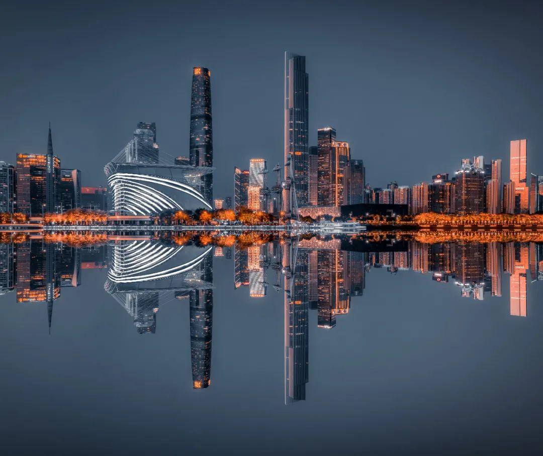 △广州CBD繁华街景。/图虫创意