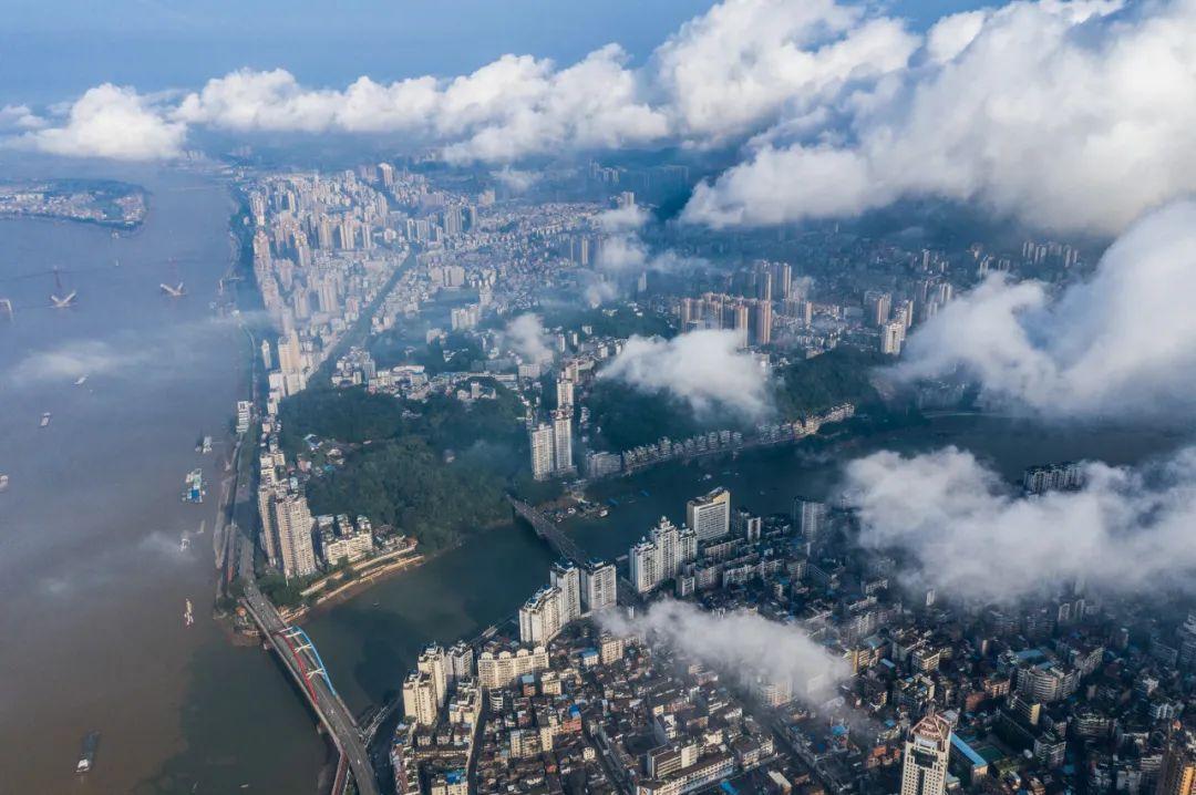 △珠江包容的气度孕育了广州的性格。/图虫创意