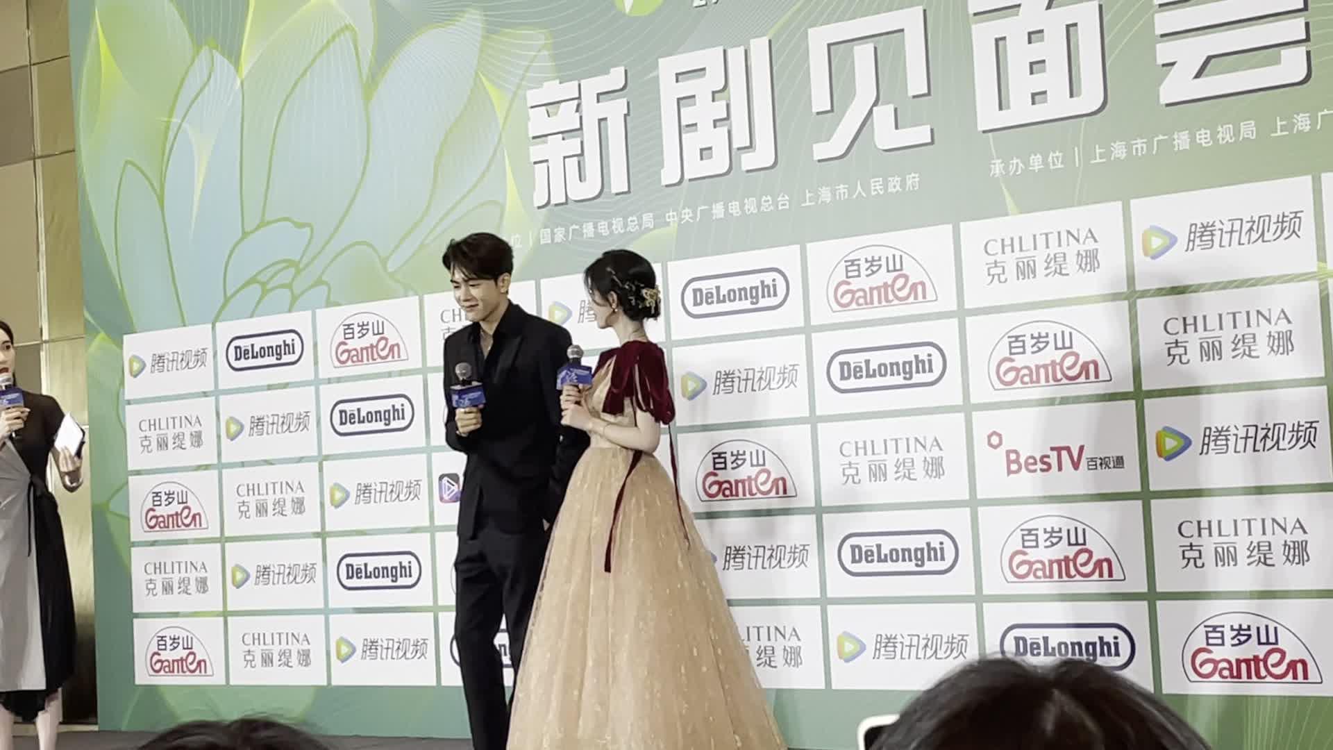 直击上海电视节丨鞠婧祎:曾舜晞的性格和外貌不相符