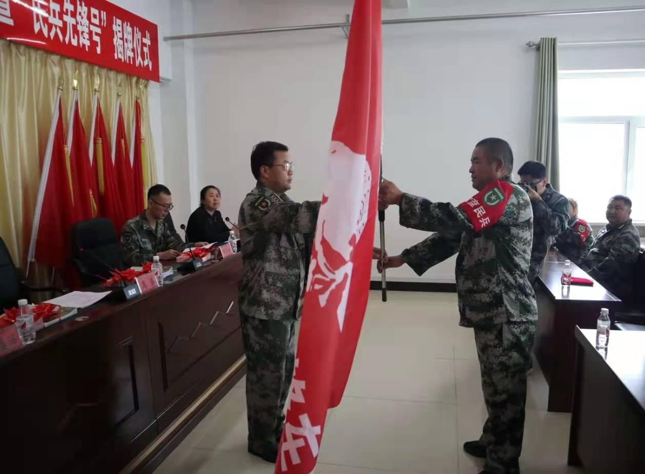 巴彦县举行2021年民兵雷锋车队爱心送考暨征兵宣传仪式
