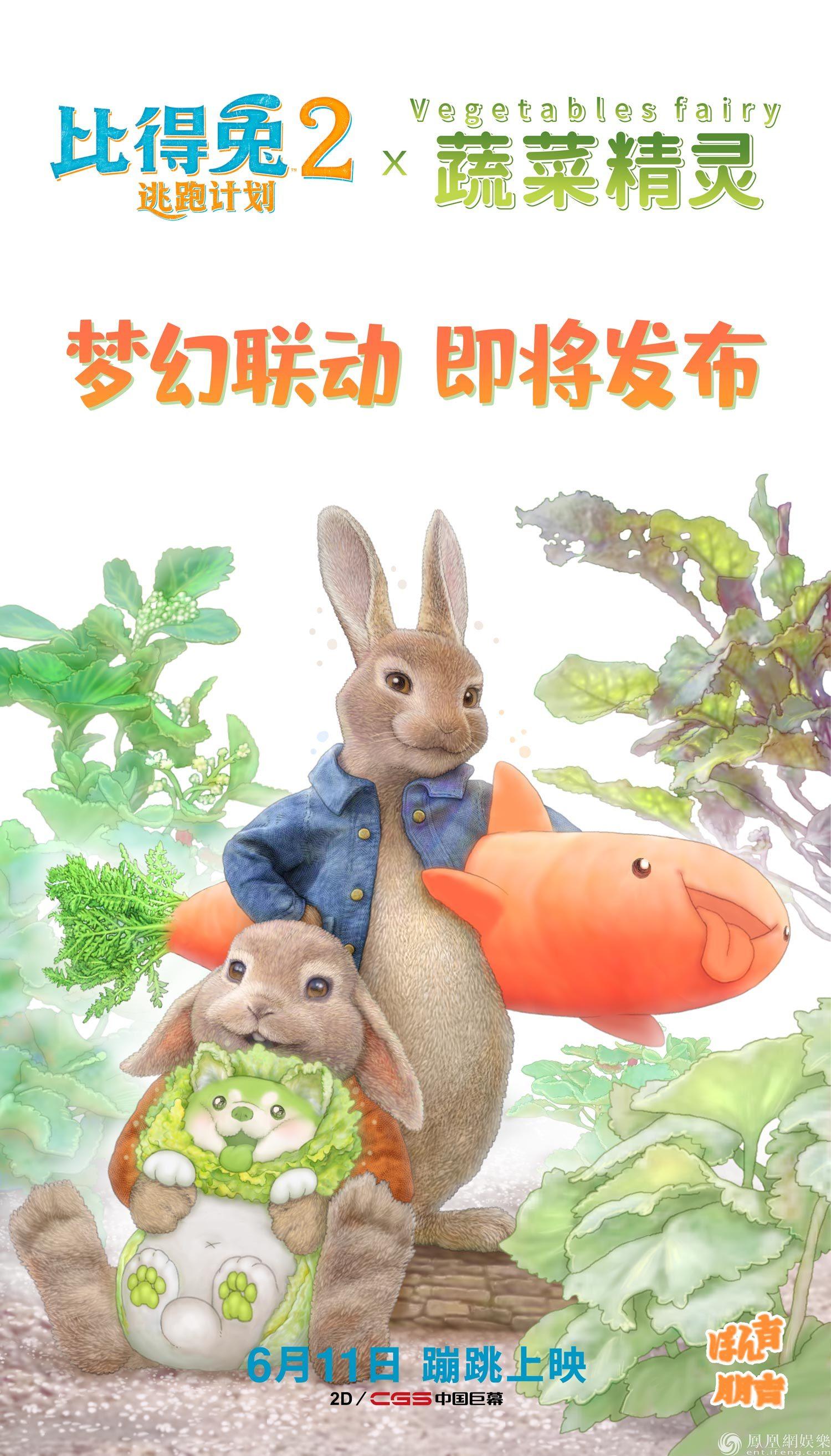 比得兔与菜狗梦幻联动