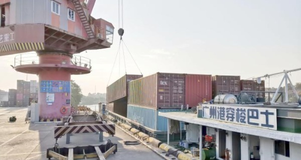 广州港穿梭巴士多举措畅通大湾区水上物流链