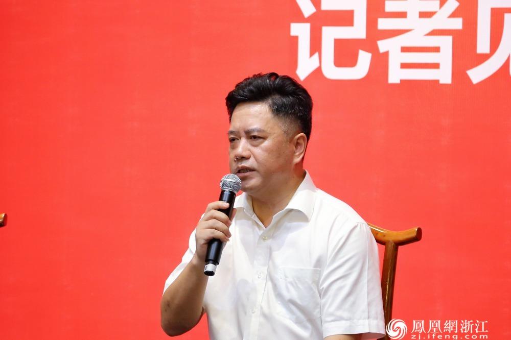 丽水市文广旅体局党组成员、副局长周益敏接受记者提问