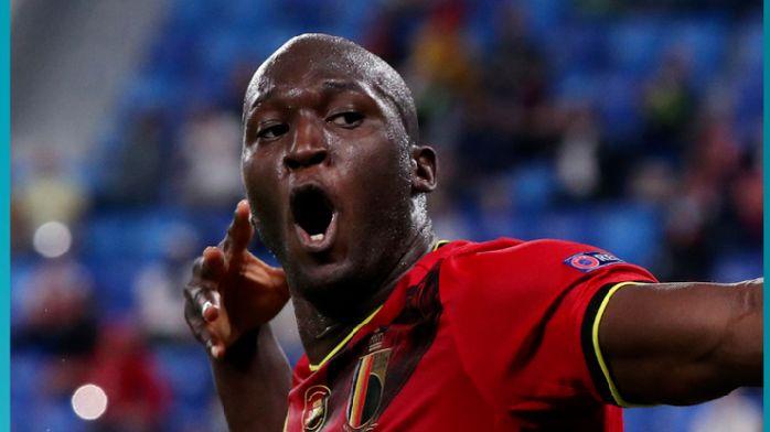 欧洲杯-比利时3-0俄罗斯,卢卡库梅开二度