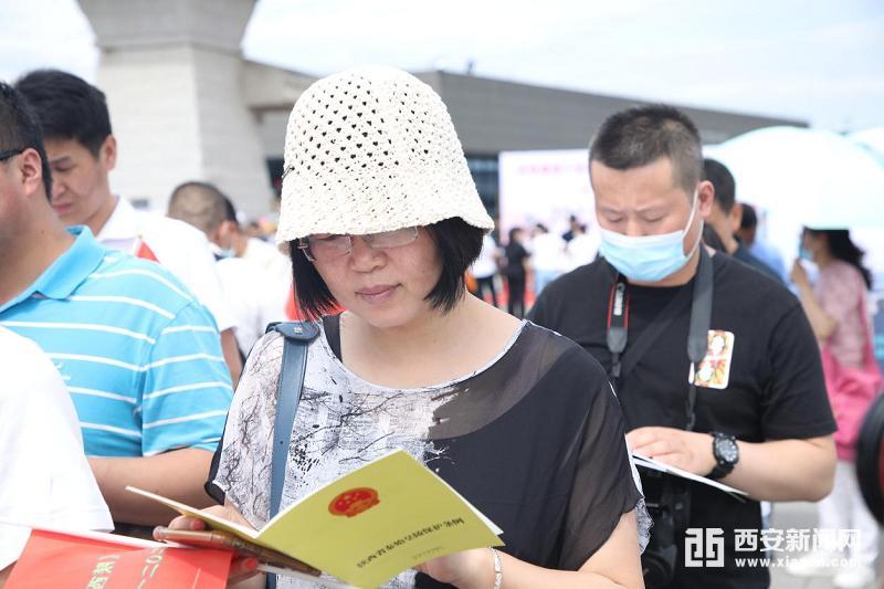 """秦陵博物院开展""""游秦陵 学条例""""活动加强非遗保护"""