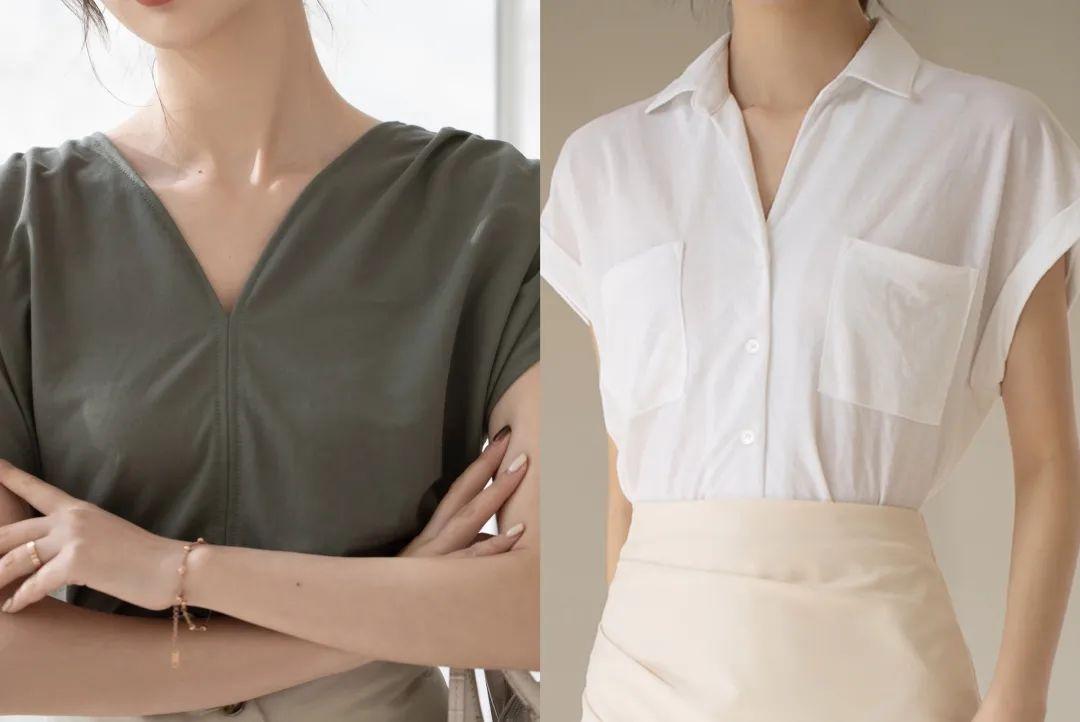 法国女人都爱的温柔衬衫,百搭经典,谁穿谁美