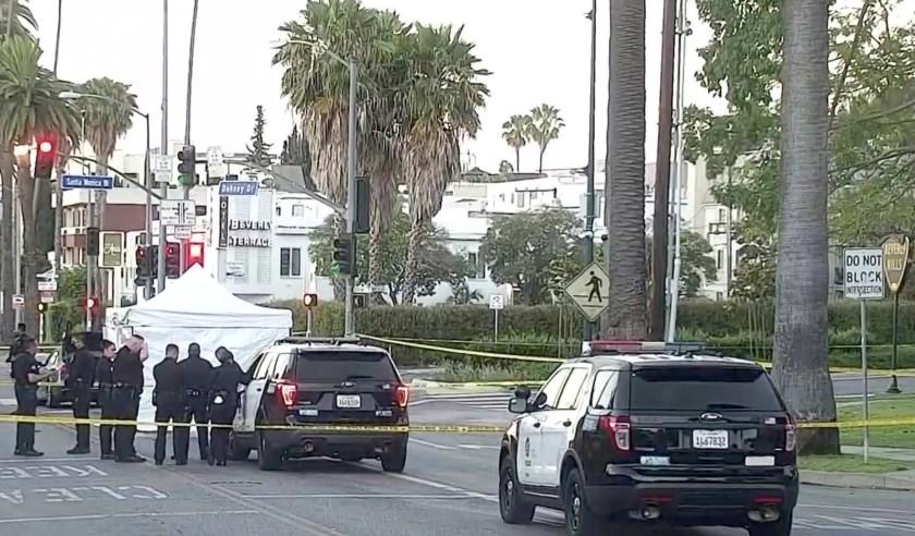 美國好萊塢山發生武裝搶劫未遂案 致1死4傷