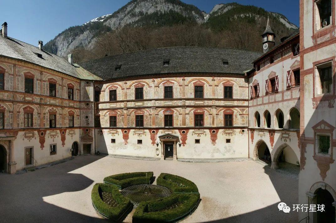 特拉茨伯格城堡内景