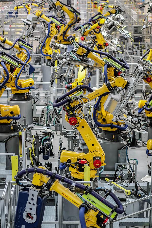 理想汽車的生產車間