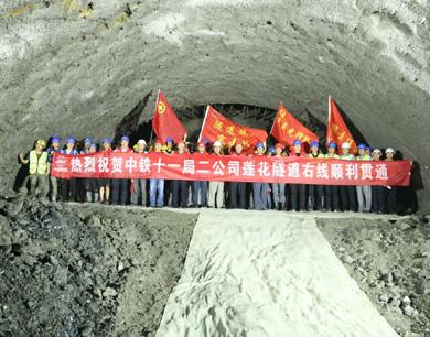 萍莲高速主线单幅全面贯通 预计将于9月30日全线通车