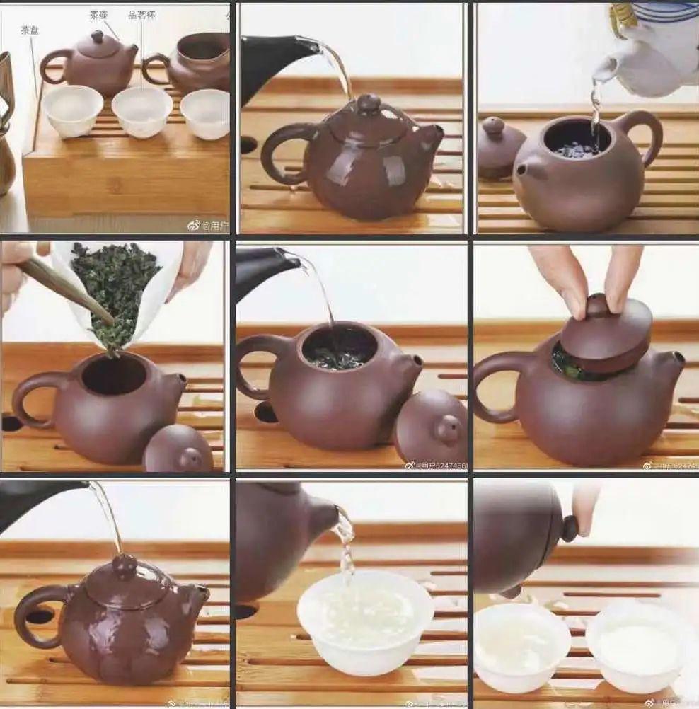 工夫茶过程 图 | 微博 @用户