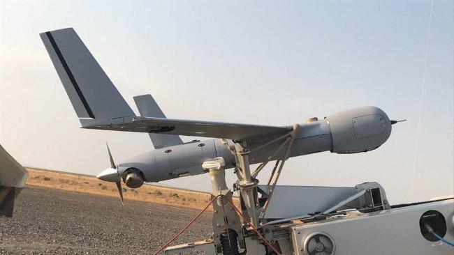 """外媒:也门胡塞武装称其击落了一架美国""""扫描鹰""""无人机"""