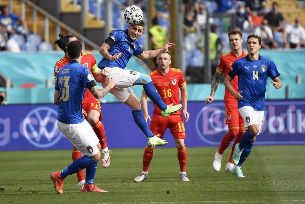意大利1-0威尔士,小组全胜战绩出线!佩西纳破门