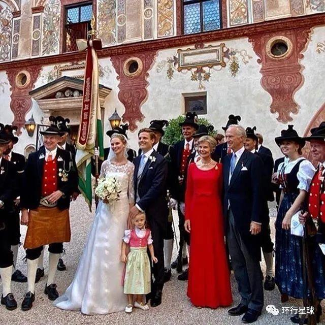 特拉茨伯格城堡-女大公婚礼 图:ins