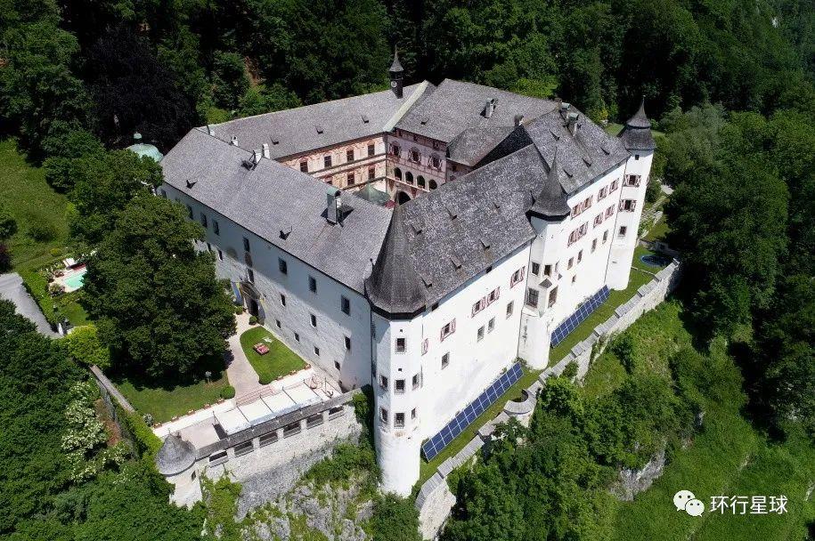 特拉茨伯格城堡俯瞰图 图:wiki