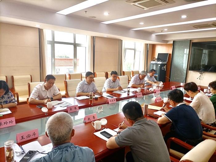 山東省民政廳召開省管慈善組織高質量發展座談會 省慈善總會等13家慈善組織參加