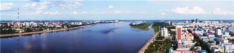 中俄双子城——黑河