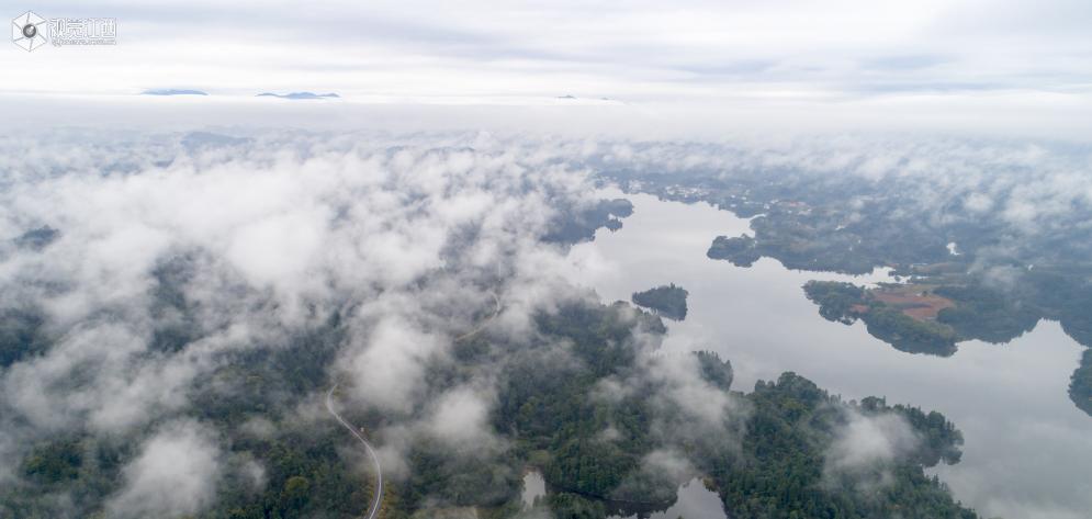 仙女湖:烟雨江南美如画