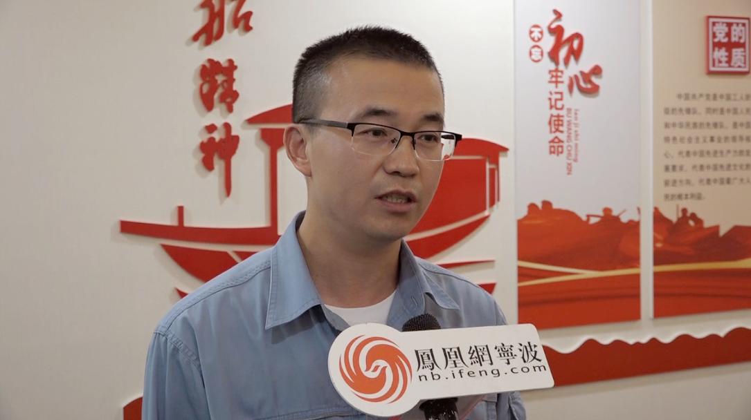 """建党百年·宁波""""红""""人   炼化先进王少杰 精益求精 一年节能创效3158万元"""