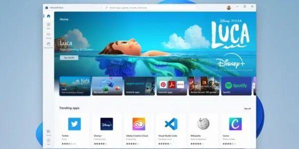 ▲Windows 11应用商店可下载安卓软件