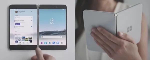 ▲微软发布的Surface Duo