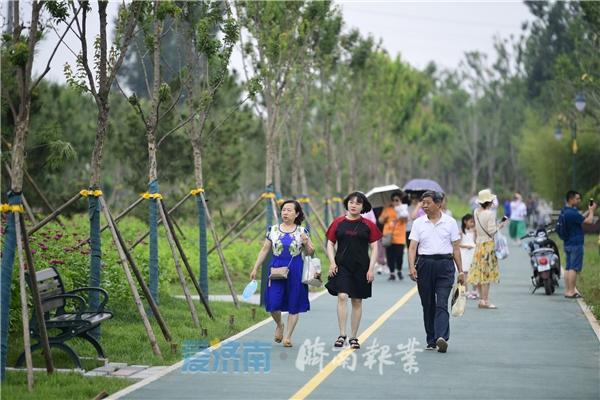 """濟鋼中央森林公園成市民打卡""""新寵"""""""