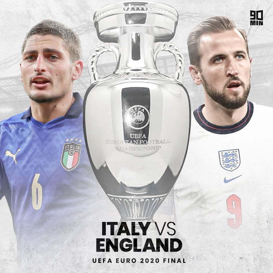 英格兰和意大利首次相遇大赛决赛。