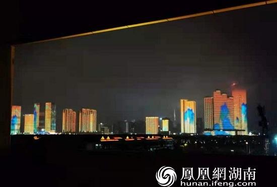 长沙夜景。