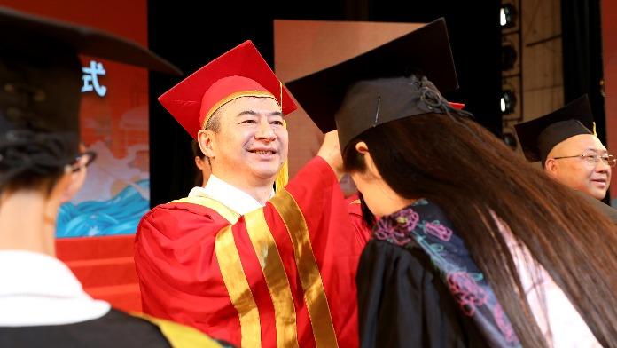 江西科技学院举行2021届本科生毕业典礼暨学士学位授予仪式