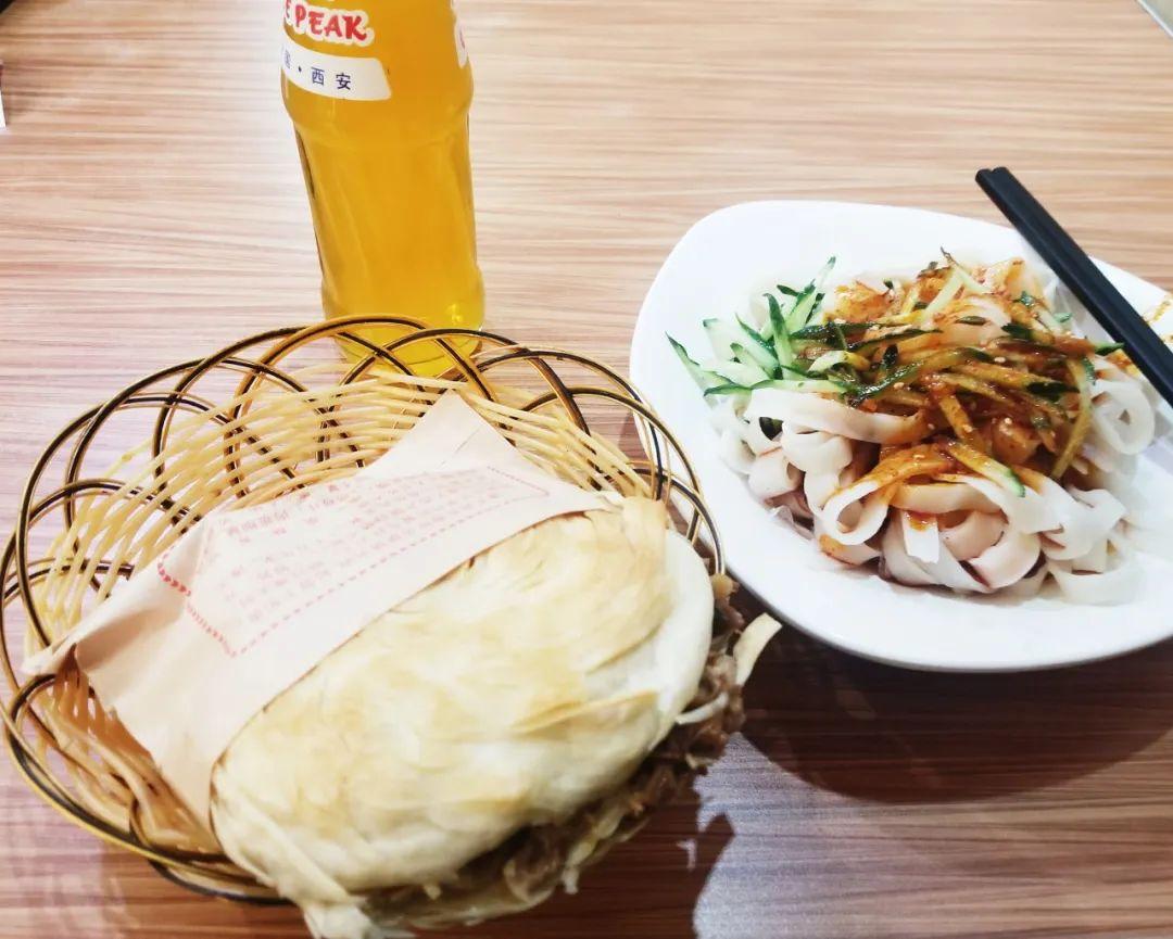 △西安肉夹馍三秦套餐。/图虫创意