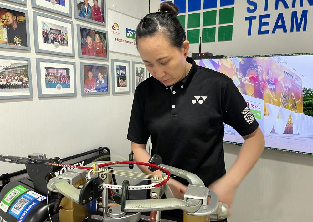 牛!宁波这名羽毛球穿线师将出征今年东京奥运会